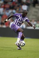 FOOTBALL - FRIENDLY GAMES 2010/2011 - OLYMPIQUE MARSEILLE v TOULOUSE FC - 21/07/2010 - PHOTO ERIC BRETAGNON / DPPI - MOUSSA SISSOKO (TFC)
