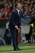 Spain coach Julen Lopetegui during the International friendly game football match between Spain and Argentina on march 27, 2018 at Wanda Metropolitano Stadium in Madrid, Spain - Photo Rudy / Spain ProSportsImages / DPPI / ProSportsImages / DPPI