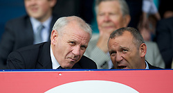 LIVERPOOL, ENGLAND - Saturday, October 1, 2011: Former Everton player Peter Reid during the Premiership match against Liverpool at Goodison Park. (Pic by David Rawcliffe/Propaganda)