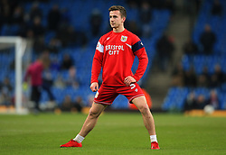 Joe Bryan of Bristol City warms up - Mandatory by-line: Matt McNulty/JMP - 09/01/2018 - FOOTBALL - Etihad Stadium - Manchester, England - Manchester City v Bristol City - Carabao Cup Semi-Final First Leg