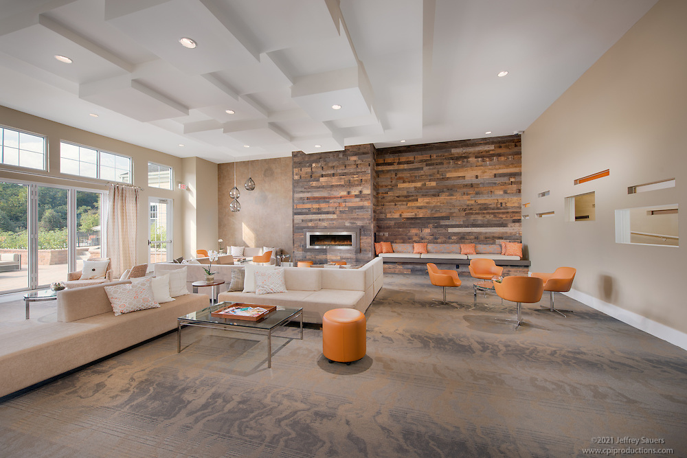 Residential Interior Image of Parc Plymouth Apartments in Pennsylvania by Jeffrey Sauers of Commercial Photographics, Architectural Photo Artistry in Washington DC, Virginia to Florida and PA to New England