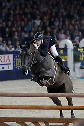 Wathelet Gregory (BEL) - Cortes 'C'<br /> second in the Rolex FEI World Cup Qualifier<br /> Jumping Mechelen 2010<br /> © Dirk Caremans