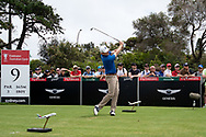 Brandt Snedeker (USA) on the ninth tee at Day 1 of The Emirates Australian Open Golf at The Lakes Golf Club in Sydney, Australia.