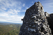 Chateau Montsegur last stand of Cathar in France Ariege