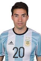 Football Conmebol_Concacaf - <br />Copa America Centenario Usa 2016 - <br />Argentina National Team - Group D -<br />Nicolas Gaitan