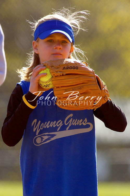 Young Guns vs Team Extreme II..Madison Parks and Rec Softball..