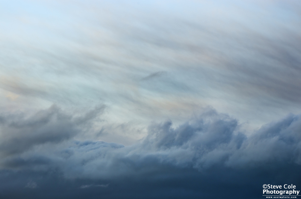 Cloudscape 03 - Snohomish River Valley