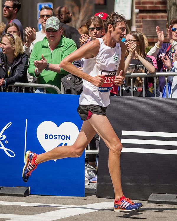 2014 Boston Marathon: Nicholas Maedel