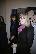 Ticky Hedley-Dent, TWO LEGS BAD, FOUR LEGS GOOD, Jake & Dinos Chapman. PARADISE ROW, 17 Hereford Street. London E2 . 9 February 2007.  -DO NOT ARCHIVE-© Copyright Photograph by Dafydd Jones. 248 Clapham Rd. London SW9 0PZ. Tel 0207 820 0771. www.dafjones.com.