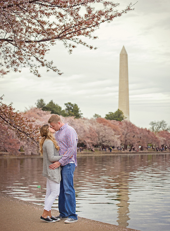 Washington DC engagement session by destination wedding photographer Michelle Turner.