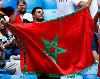 Morocco supporters<br /> Saint Petersburg 15-06-2018 Football FIFA World Cup Russia  2018 <br /> Morocco - Iran / Marocco - Iran <br /> Foto Matteo Ciambelli/Insidefoto