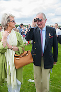MR. AND MRS. ROBIN BYERS, , Cartier Queen's Cup. Guards Polo Club, Windsor Great Park. 17 June 2012