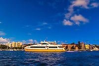 Fast ferry boat, Manly, Sydney, New South Wales, Australia