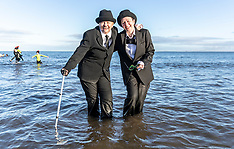 Loony Dook Portobello Beach, Edinburgh, 1 January 2019
