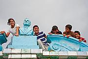 Catarina Nicaragua, January 21, 2012. Catarina is an artists' village situaed on the Apoyo lagoon.