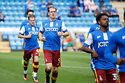 Bradford City Defender Matthew Kilgallon (5) warms up before kick off during the EFL Sky Bet League 1 match between Gillingham and Bradford City at the MEMS Priestfield Stadium, Gillingham, England on 12 August 2017. Photo by Andy Walter.