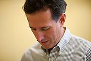 Republican presidential hopeful Rick Santorum campaigns on Thursday, July 28, 2011 in Mt. Pleasant, IA.