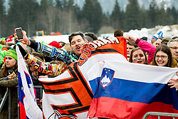 Supporters of Slovenia during the Ski Flying Hill Individual Competition at Day 1 of FIS Ski Jumping World Cup Final 2016, on March 17, 2016 in Planica, Slovenia. Photo by Vid Ponikvar / Sportida