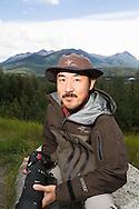 Photographer Takeshi Hanatani, Kenai National Wildlife Refuge, Alaska, USA.