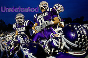 Named after Chief Logan of the Mingo Indian tribe, Logan is a small town in Southeast Ohio&rsquo;s Hocking Hills. The Logan High School Chieftains are an extremely successful Division II football <br /> program currently undefeated at 5-0. <br /> <br /> The purple &amp; white Chieftains, a powerhouse for many years, have gone 51-5 in the Southeastern Ohio Athletic League since 2000 and, midway through their season, are pummeling opponents by an average margin of 27 points.<br /> <br /> All the photographs and audio were created on Friday, Sept. 26, 2008, between the hours of 5:30 a.m. and midnight, as the Chieftains battle the Zanesville High School Blue Devils.