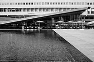 The Paul Milstein Pool and Terrace at Lincoln Center.