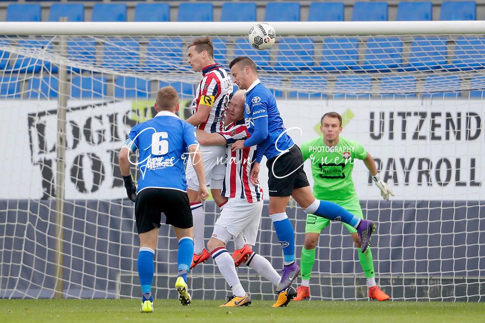 *Freek Heerkens* of Willem II, *Jop van der Linden* of Willem II, *Ben Santermans* of FC Den Bosch