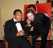 Muhammad Ali and Michael Johns.Muhammad Ali Celebrityvibe Fight Night XV..A Benefit to raise funds to fight against Parkinson disease..Marriott Hotel and Resort..Phoenix, AZ, USA..Saturday, March 28, 2009..Photo By Celebrityvibe.com.To license this image please call (212) 410 5354; or Email: celebrityvibe@gmail.com ;.website: www.celebrityvibe.com