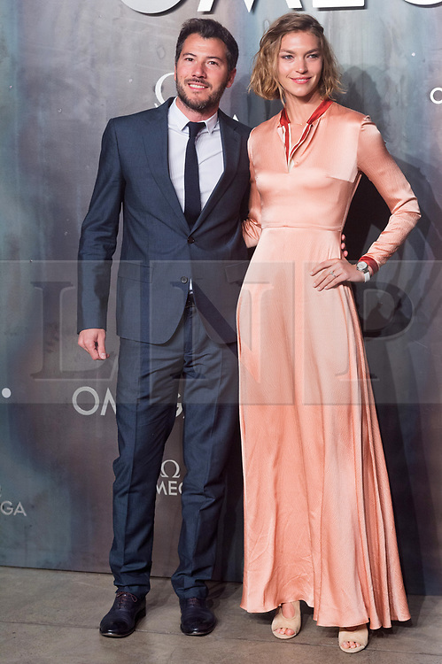 © Licensed to London News Pictures. 26/04/2017. London. BONNIFACE VERNEY-CARRON and ARIZONA MUSE attend the Omega party celebrating 60 Years of the Speedmaster watch. Photo credit: Ray Tang/LNP