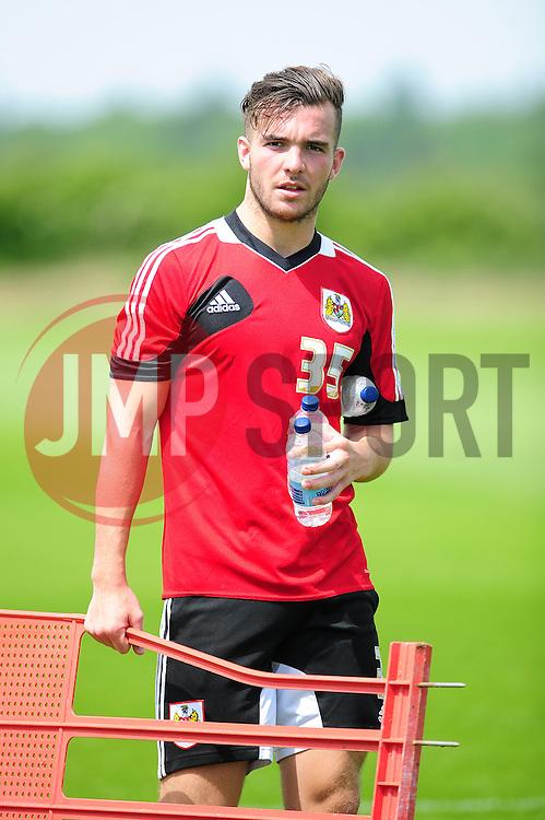 Bristol City's new signing, Mitch Brundle - Photo mandatory by-line: Dougie Allward/JMP - Tel: Mobile: 07966 386802 27/06/2013 - SPORT - FOOTBALL - Bristol -  Bristol City - Pre Season Training - Npower League One