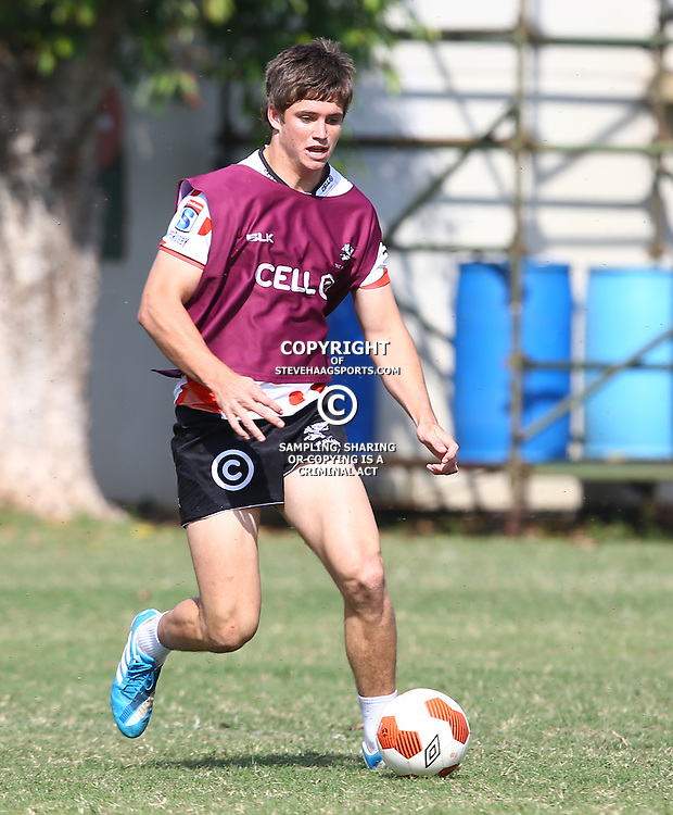 DURBAN, SOUTH AFRICA, 5 September, 2016 - Benhard Janse Van Rensburg during The Cell C Sharks training session at Growthpoint Kings Park in Durban, South Africa. (Photo by Steve Haag)<br /> <br /> images for social media must have consent from Steve Haag