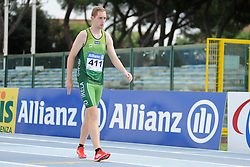 12 / 06 / 2016,  Conor McIlveen (Derry, Co. Derry), F38 class, City of Derry AC pictured competing in the 1500m at the 2016 IPC Athletic European Championships in Grosseto, Italy