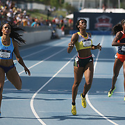 HASTINGS - 13USA, Des Moines, Ia. - Natasha Hastings bested Francena McCory in the 400. Photo by David Peterson