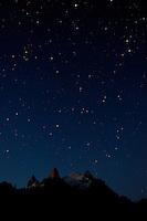 Night Sky in Patagonia. Hosteria El Pilar, El Chalten, Argentina. Image taken with a Nikon D3x and 16-35 mm f/4 lens (ISO 400, 28 mm, f/4.5, 58 sec)