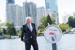 02.05.2017, Alte Donau, Wien, AUT, Saisoneröffnung an der Alten Donau, Anrudern. im Bild Bürgermeister und Landeshauptmann von Wien Michael Häupl (SPÖ) // during season opening at the old Danube channel in Vienna, Austria on 2017/05/02. EXPA Pictures © 2017, PhotoCredit: EXPA/ Michael Gruber