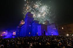 INCENDIO CASTELLO CAPODANNO 2020 FERRARA