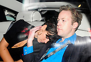 24.FEBUARY.2010 - LONDON<br /> <br /> LILY ALLEN AND BOYFRIEND SAM COOPER LEAVING THE O2 BRIXTON ACADEMY AFTER ATTENDING THE SHOCKWAVES NME AWARDS WITH LILY HAVING A LITTLE NAP ON THE WAY HOME ON SAM'S SHOULDER.<br /> <br /> BYLINE: EDBIMAGEARCHIVE.COM<br /> <br /> *THIS IMAGE IS STRICTLY FOR UK NEWSPAPERS & MAGAZINES ONLY*<br /> *FOR WORLD WIDE SALES AND WEB USE PLEASE CONTACT EDBIMAGEARCHIVE - 0208 954 5968*