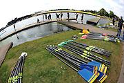 Nottingham, Great Britain, ENGLAND, crews boating.  at the 2008 National Schools Regatta, Holme Pierrepont,  Saturday,  24/05/2008.  [Mandatory Credit:  Peter Spurrier/Intersport Images]