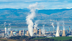 INEOS Grangemouth petrochemical planet and oil refinery in Scotland, UK