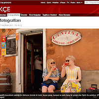 Marco Secchi photography tear sheet london and Venice