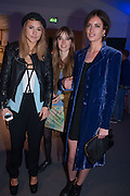 SUKI WOODHOUSE; EDIE CAMPBELL; LILY RIDGE, The Vogue Festival 2012 in association with Vertu- cocktail party. Royal Geographical Society. Kensington Gore. London. SW7. 20 April 2012.