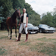 Jodie Kidd with Maserati and Ferrari Motors TV, Goodwood TV,