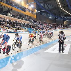 01-03-2018: Wielrennen: WK Baan: Apeldoorn<br />Impression scratchrace