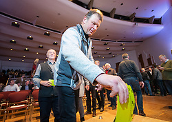 29.01.2019, Stadtsaal, Lienz, AUT, TVBO Wahl 2019, Wahlwiederholung, im Bild Stimmabgabe // during the redial of the TVBO election at the Stadtsaal in Lienz, Austria on 2019/01/29. EXPA Pictures © 2019, PhotoCredit: EXPA/ Johann Groder