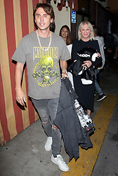 Jonathan Cheban and his mother were seen leaving good friend Kim Kardashian's 37th Birthday dinner at the 'Carousel' Lebanese and Armenian Restaurant in Los Feliz, CA There was presents for Kim from Chanel and Prada in the back of the Silver Range Rover. 26 Oct 2017 Pictured: Jonathan Cheban, Mother. Photo credit: MEGA TheMegaAgency.com +1 888 505 6342