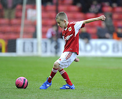 Mascot - Photo mandatory by-line: Joe Meredith/JMP - Tel: Mobile: 07966 386802 18/01/2014 - SPORT - FOOTBALL - Ashton Gate - Bristol - Bristol City v MK Dons - Sky Bet League One