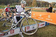 CZECH REPUBLIC / TABOR / WORLD CUP / CYCLING / WIELRENNEN / CYCLISME / CYCLOCROSS / VELDRIJDEN / WERELDBEKER / WORLD CUP / COUPE DU MONDE / #2 / LUBOMIR PETRUS (BKCP-POWERPLUS) /