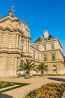senat jardin du luxembourg in the city of Paris in france