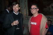 MATHIAS POLEDNA; DAVID HOLLANDER, preview of Pinchuk Foundation's Future Generation Art Prize,     Palazzo Contarini PolignacVenice. Venice Bienalle. Thursday 30 May).