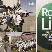 Sports Illustrated all access with the Oregon Duck football team.