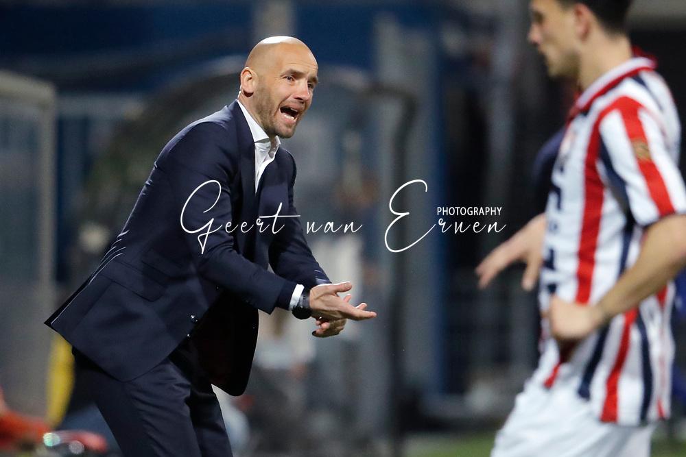 coach *Mitchell van der Gaag* of Excelsior